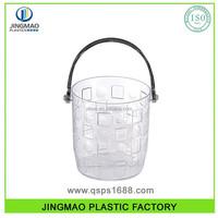 Plastic Clear Ice Bucket 2000ML