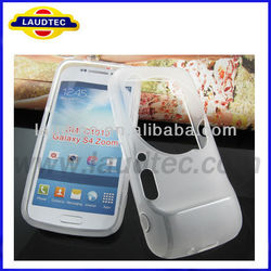 Galaxy S4 Zoom TPU Case,Matte Pudding Soft TPU Gel Case For Samsung Galaxy S4 Zoom