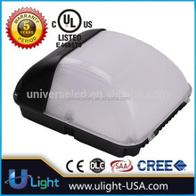 50W led wall pack light / UL outdoor led wall mount pack lights