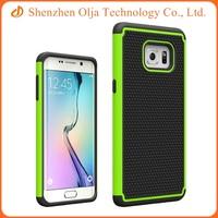Custom tpu pc combo phone case for samsung galaxy s6