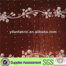 100%Polyester velvet micro high quality velvet ladies fabric