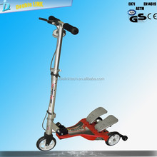 full new three wheels stepper scooter with CE ,Patent certification