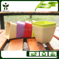 eco living bio home garden square pots