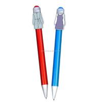 Clip Custom Made Character Pens/ Clip Cartoon Pen/Promotional Product Printing YB-3005