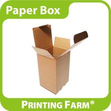No Printing Brown Kraft Corrugated Paper Box