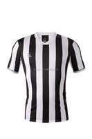 White Black Classics Stripe Men t shirt Soccer Training Hyper Cool Dry Fit Breathable Compression T Shirt