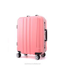 New Products Hebei Baigou ABS+PC Travel Luggage Bags Trolley Case