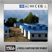 Namibia 6700m2 army cabin modular prefab house for sale