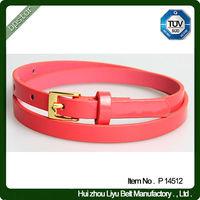 Lovely kids leather belt pu leather belt for children girls