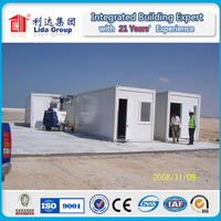 large exported low cost shipping container mobile home/modular home