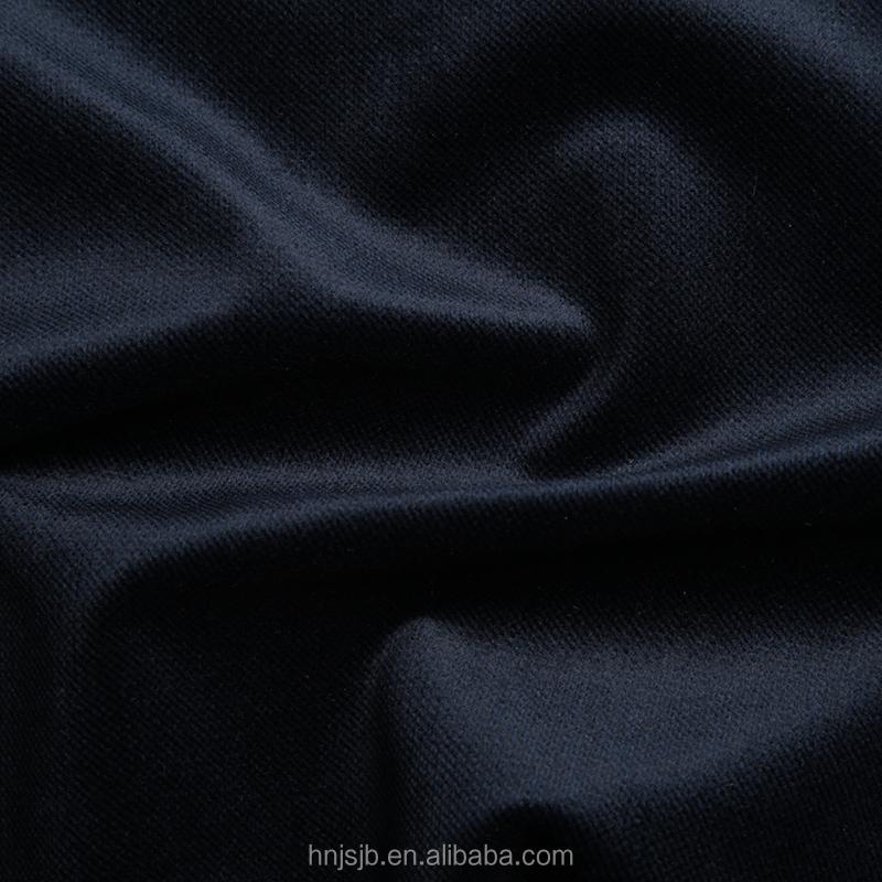 Catiônica material de poliéster kniited tricot tecido escova uso para o homem calças casacos jackts