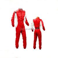 2 layer fireproof nylon racing wear and racing coverall