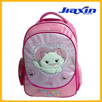 2015 new style kids school trolley bag set