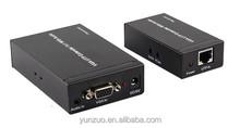 Top selling 300M VGA Signal to RJ45 Signal Extender Transmitter + Receiver Set Single Ethernet