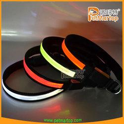 best selling products 2015 TZ-PET1038 dog collar pvc reflective pet accessories promotional pet items