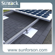 PV Solar Panel Aluminum Mounting Bracket for Home System