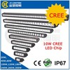 20W-300W Waterproof Single Row 50inch LED Light Bar LED Work Light