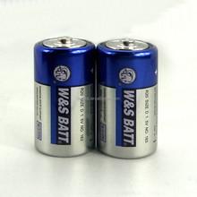 Carbon Zinc Battery R20 Metal Jacket W&S BATT brand (blue and silver color)