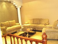 best selling Modern Genuine fabric Leather sofa set design