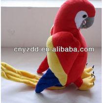 plush parrots