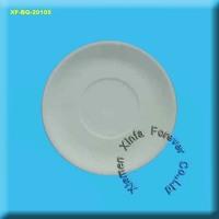cone 04 unglazed ceramic salver