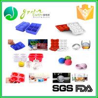 New Design Hot Selling Ice Cream Tools customed design Silicone Ice Pop Tray