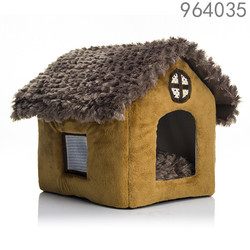 new design high quality warm house cat pet bed
