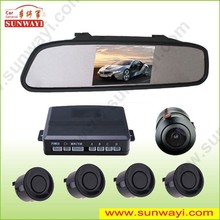 Wholesale price for honda accord and universal car camera 4.3inch LED CE parking sensor review