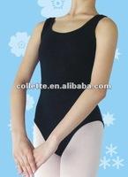 Sexy black new ballet camisole leotard
