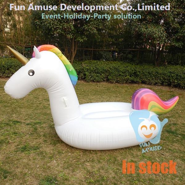 Estate arcobaleno unicorno gonfiabile piscina galleggiante acqua strutture ricreative id - Unicorno gonfiabile piscina ...