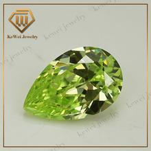 Amazing Hot Sale Apple Green Gemstone Precious CZ Cubic Zirconia: In Wuzhou