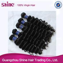 newly human hair extension top quality human hair machine wefts braidings
