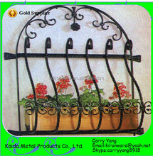 Metal Material Decorative Wrought Iron Window Grill