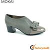 MK084-1 high quality Genuine leather hot sale fashion china womens platform low heels shoes