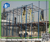 low cost 2 storeys steel frame house