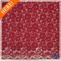 Nylon cotton high qualtiy african cord lace fabric