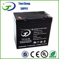 12V 50Ah Sealed Lead Acid SLA VRLA MF Gel Solar PV UPS Battery