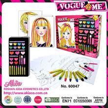 chica cosméticos juguetes jugar juegos