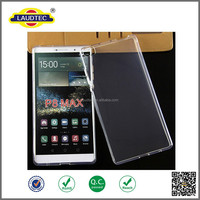 Beautiful Waterproof Transparent TPU Gel Case for Huawei P8 Max