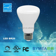 New smooth outer hosing LED bulb LED lamp R20, BR30, BR40 with UL, and energy star