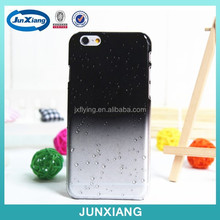 transparent cell phone case with rain drop shape pc case cover for iphone 6
