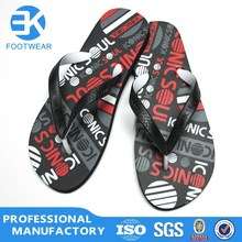 Fashion rubber/ PE man beach flip flop Sandal 2015