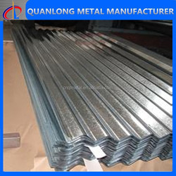 Type of Corrugated Roofing Sheet Material/zinc aluminum roofing sheet/metal roof