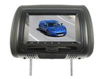 24V 7 inch auto DVD headrest with digital screen headrest dvd with SONY lens