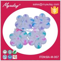 2015 Best quality unique wholesale baby favor flower soft sponge bath for walmart audit BA-M-007