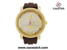 Export extra big size 50mm quartz watch for men classic diamonds gent watch