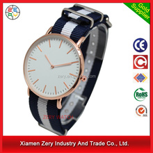 R0792 New products of alibaba wrist watch for women nylon strap, brand name elegance watch