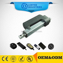 36''10000N linear actuator over clutch protection