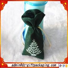 Artificial Small Linen Imitation Christmas Tree Storage bag
