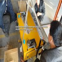 Zhengzhou Sincola Professional Tech Automatic Rendering Machine With Cement Mixer Plaster Of Paris